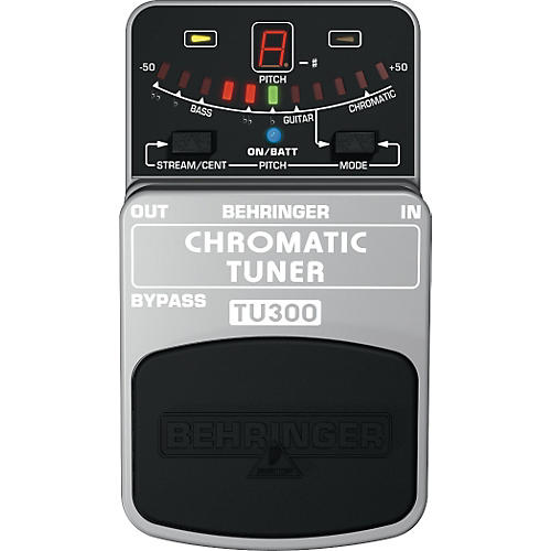 behringer tu300 chromatic pedal tuner guitar center. Black Bedroom Furniture Sets. Home Design Ideas