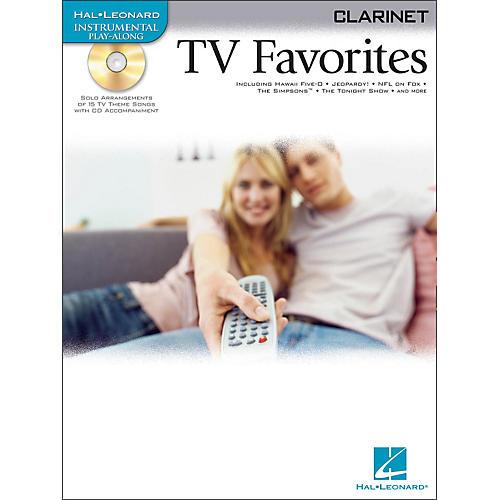 Hal Leonard TV Favorites for Clarinet Book/CD