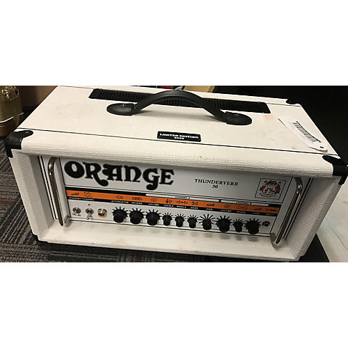 Orange Amplifiers TV50H Thunderverb 50W Limited Edition Tube Guitar Amp Head