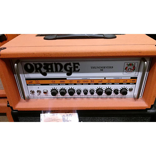 Orange Amplifiers TV50H Thunderverb 50W Tube Guitar Amp Head