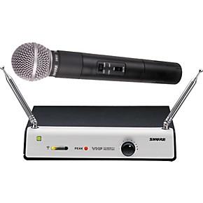 Wireless Guitar Microphone System : shure tv58d wireless vocal microphone system guitar center ~ Russianpoet.info Haus und Dekorationen