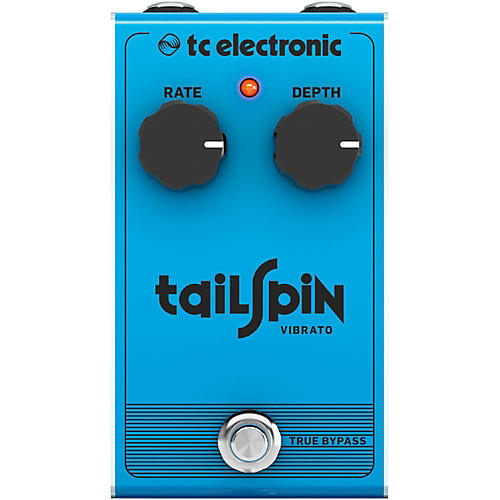 Tc Electronic Tail Spin Vibrato Effect Pedal Guitar Center