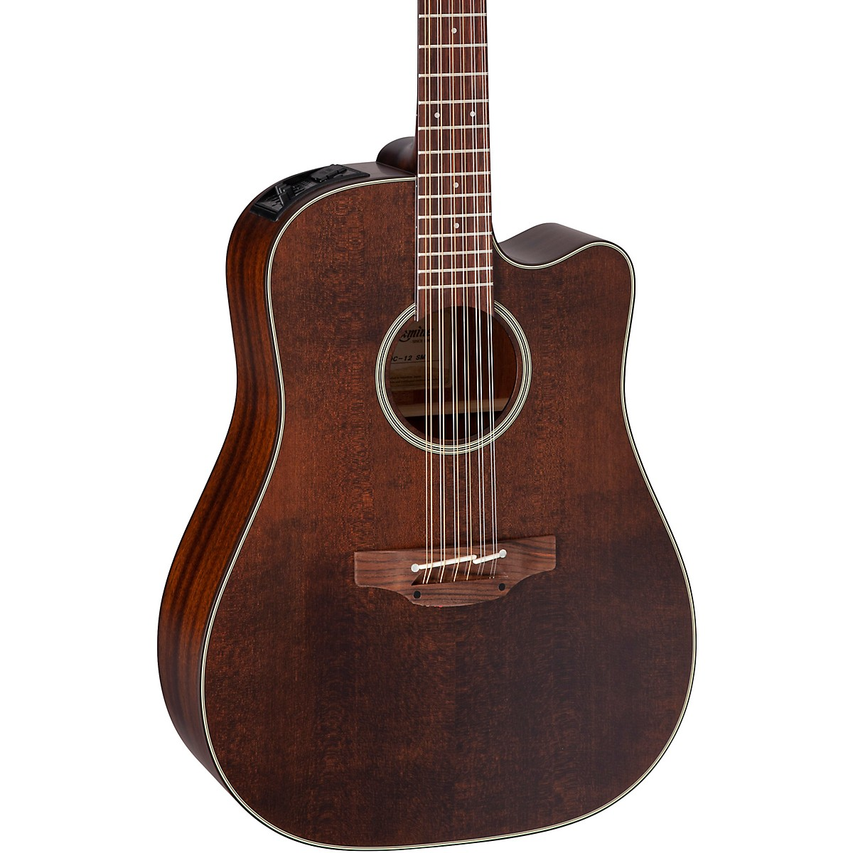 Takamine Takamine P1DC-12 SM 12-String Dreadnought Acoustic-Electric Guitar