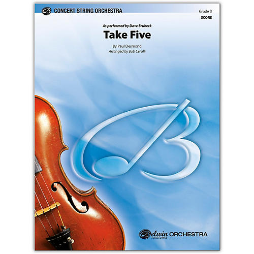 BELWIN Take Five Conductor Score 3
