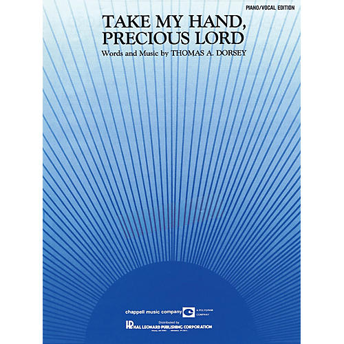Hal Leonard Take My Hand, Precious Lord Piano Vocal Series