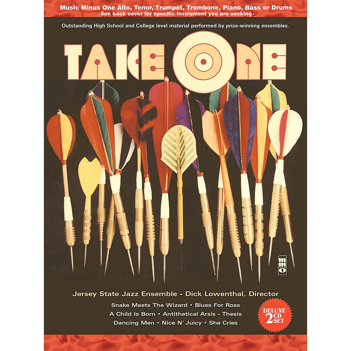 Music Minus One Take One (Minus Bass/Electric Bass) (Deluxe 2-CD Set) Music Minus One Series Softcover with CD
