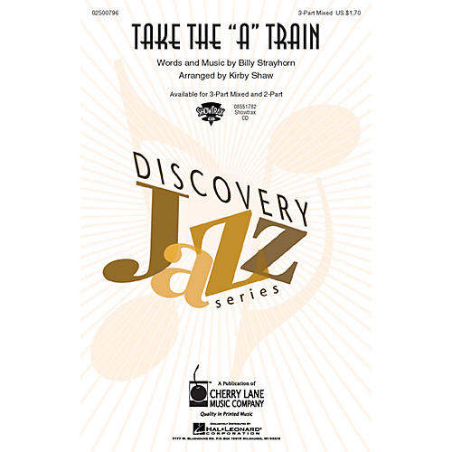 Hal Leonard Take the A Train ShowTrax CD Arranged by Kirby Shaw