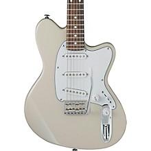 Talman Prestige Series TM1730 Electric Guitar Vintage White Rosewood Fingerboard