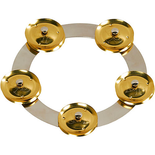 LP Tambo-Ring - Stainless Steel with Brass Jingles