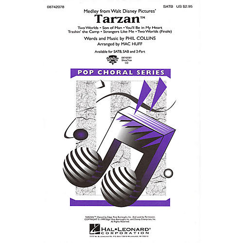 Hal Leonard Tarzan (Medley) ShowTrax CD Arranged by Mac Huff