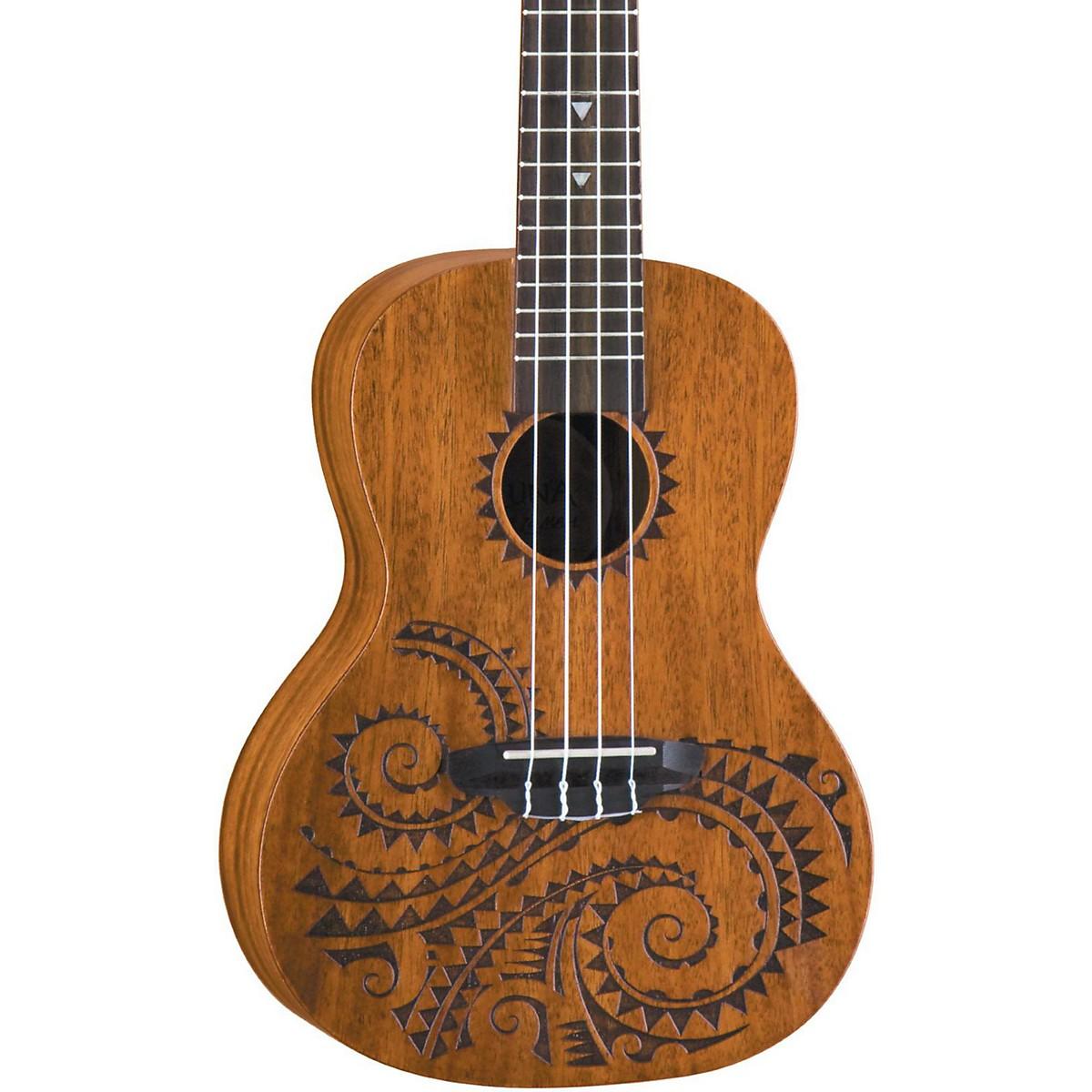 Luna Guitars Tattoo Concert Mahogany Ukulele