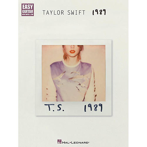 Hal Leonard Taylor Swift - 1989 Easy Guitar Tab