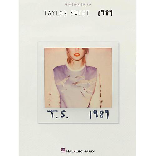 Hal Leonard Taylor Swift - 1989 Piano/Vocal/Guitar
