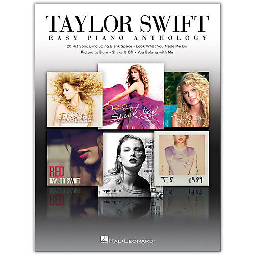 Hal Leonard Taylor Swift - Easy Piano Anthology