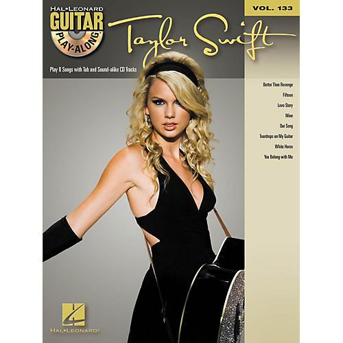 Hal Leonard Taylor Swift - Guitar Play- Along Volume 133 (Book/CD)