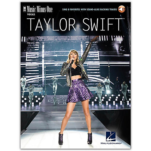 Music Minus One Taylor Swift - Sing 8 Favorites - Music Minus One Series Book/Audio Online