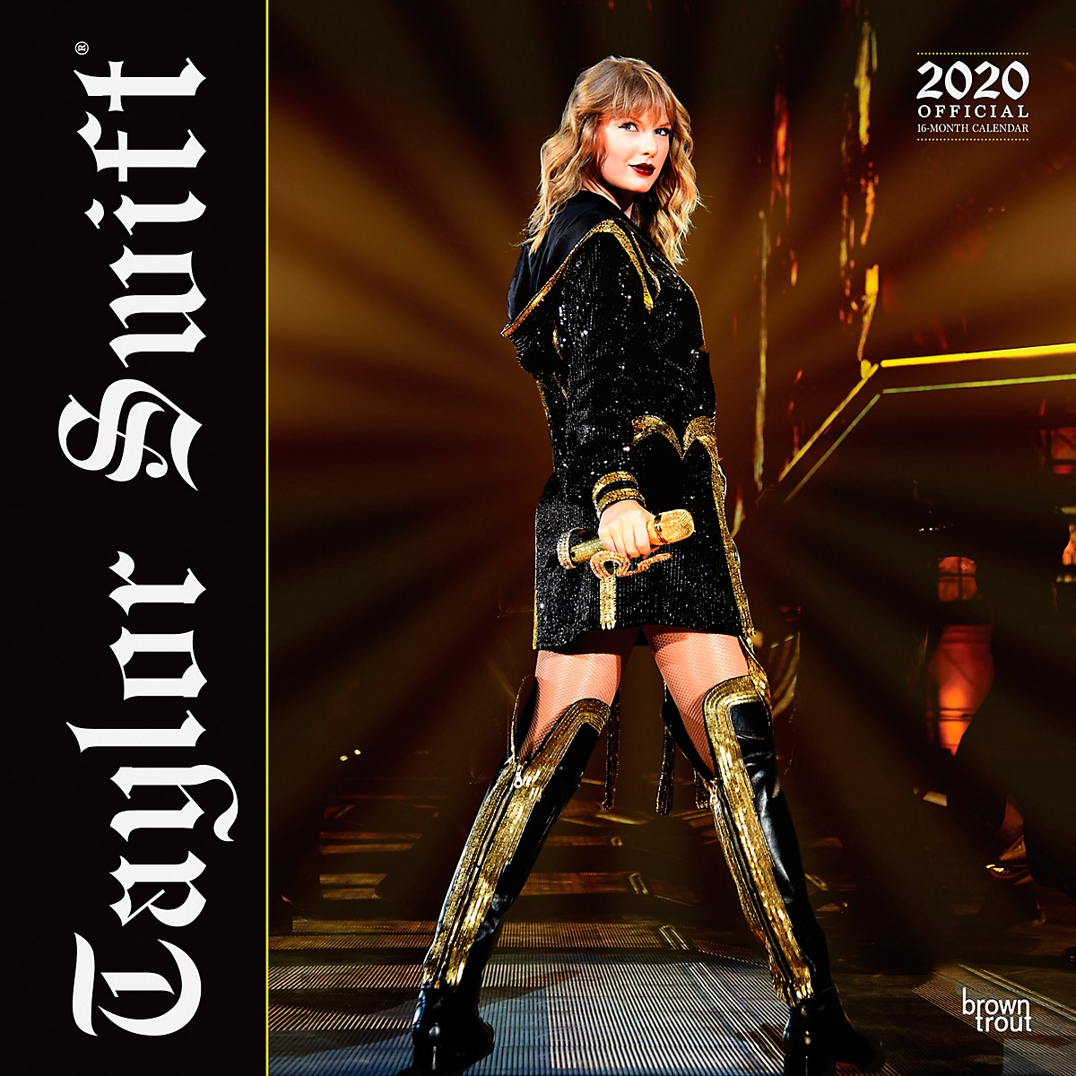 Browntrout Publishing Taylor Swift 2020 Calendar
