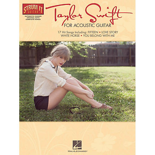 Hal Leonard Taylor Swift For Acoustic Guitar - Strum It Guitar Series