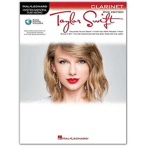 Hal Leonard Taylor Swift For Clarinet - Instrumental Play-Along 2nd Edition Book/Online Audio