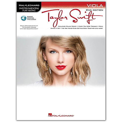 Hal Leonard Taylor Swift For Viola - Instrumental Play-Along 2nd Edition Book/Online Audio