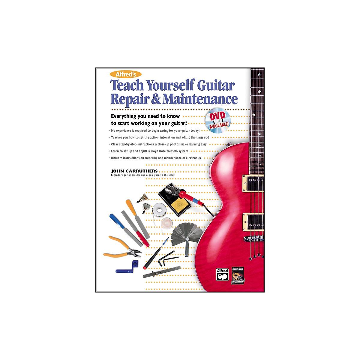 Alfred Teach Yourself Guitar Repair and Maintenance Book