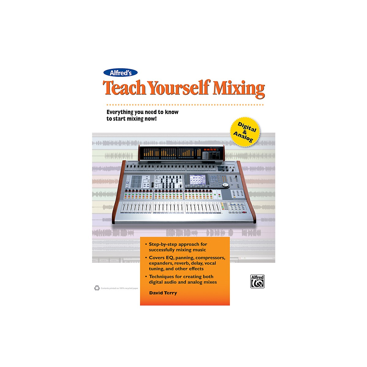 Alfred Teach Yourself Mixing Book