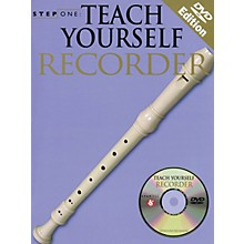 Music Sales Teach Yourself Recorder (Step One Series) Music Sales America Series Softcover with CD by Various Authors