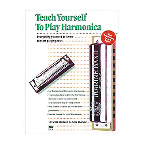 Alfred Teach Yourself To Play Harmonica Book