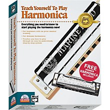 Alfred Teach Yourself To Play Harmonica CD-ROM