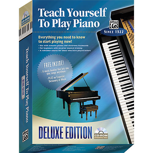 Alfred Teach Yourself To Play Piano Deluxe Edition CD-ROM