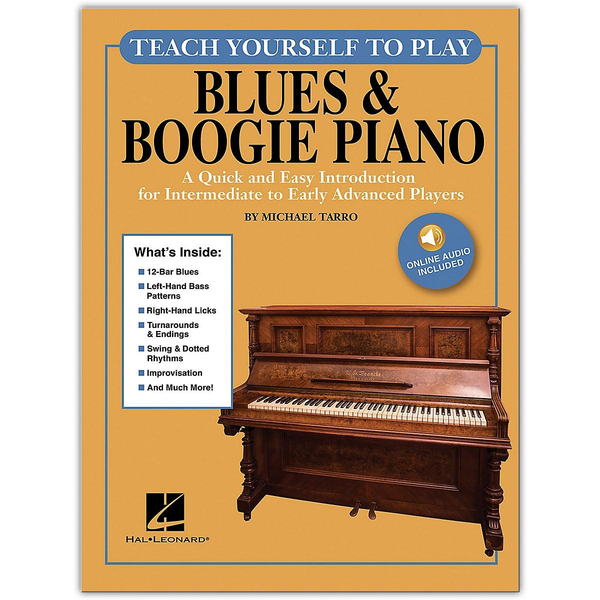 Hal Leonard Teach Yourself to Play Blues & Boogie Piano Written by Michael Tarro