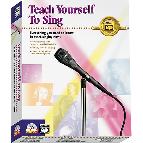 Alfred Teach Yourself to Sing CD-ROM