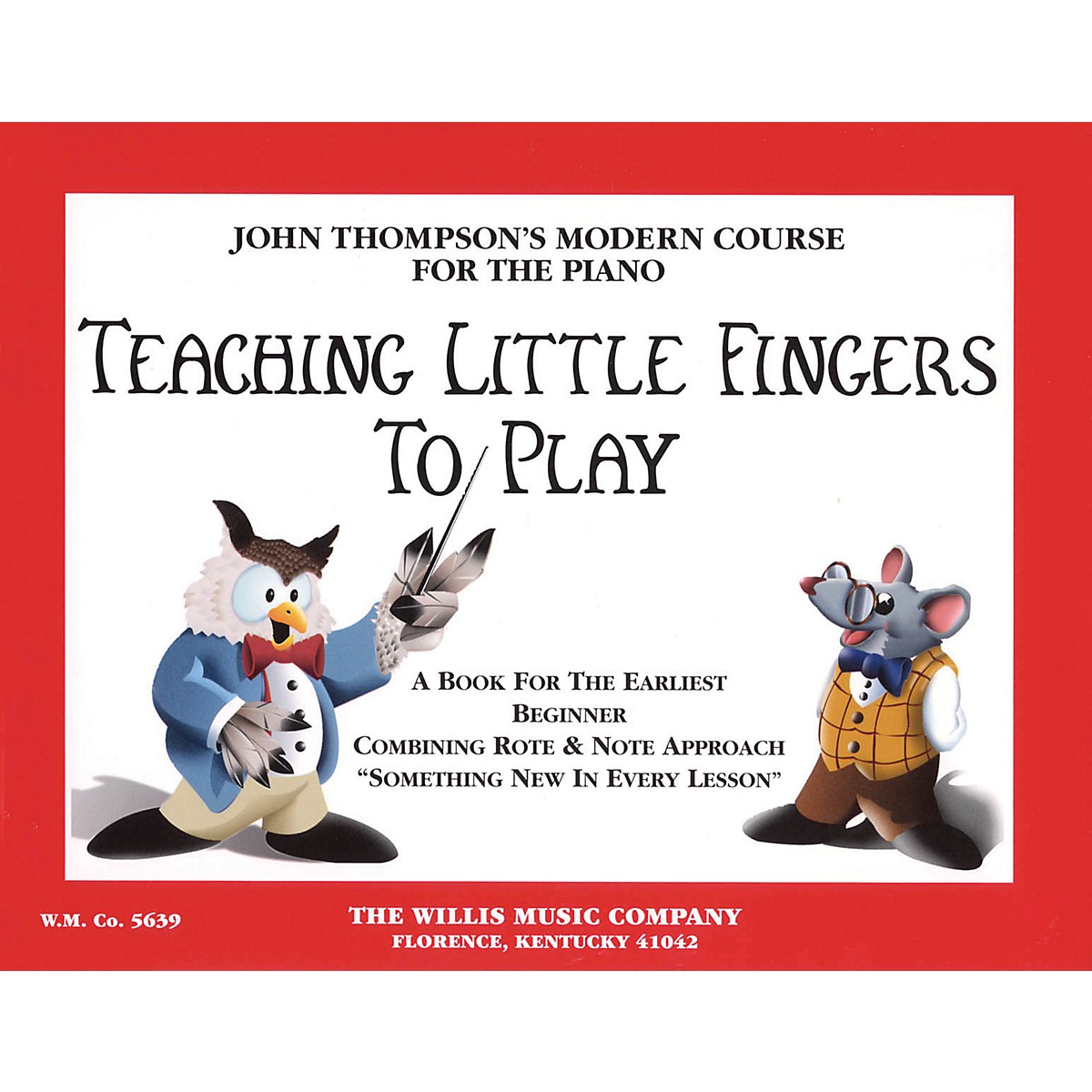 Hal Leonard Teaching Little Fingers To Play Piano Book
