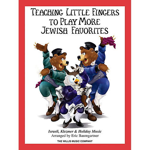 Willis Music Teaching Little Fingers to Play More Jewish Favorites Willis Series Softcover