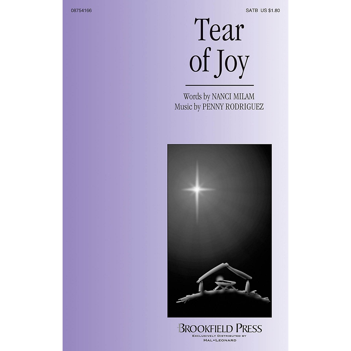 Brookfield Tear of Joy SATB composed by Penny Rodriguez