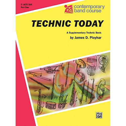 Alfred Technic Today Part 1 E-Flat Alto Saxophone