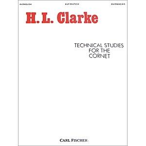 Carl Fischer Technical Studies for the Cornet by Carl Fischer