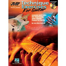 Musicians Institute Technique Exercises for Guitar Musicians Institute Press Series Softcover with CD by Jean Marc Belkadi