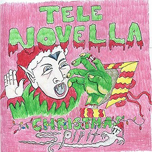 Alliance Tele Novella - Christmas Spirit/Purple Snowflakes