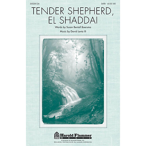 Shawnee Press Tender Shepherd, El Shaddai SATB composed by David Lantz III
