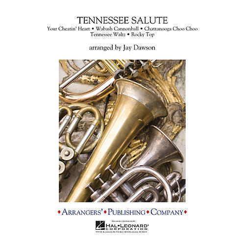 Arrangers Tennessee Salute Full Score Concert Band
