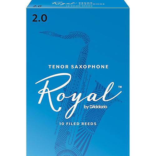 Rico Royal Tenor Saxophone Reeds, Box of 10