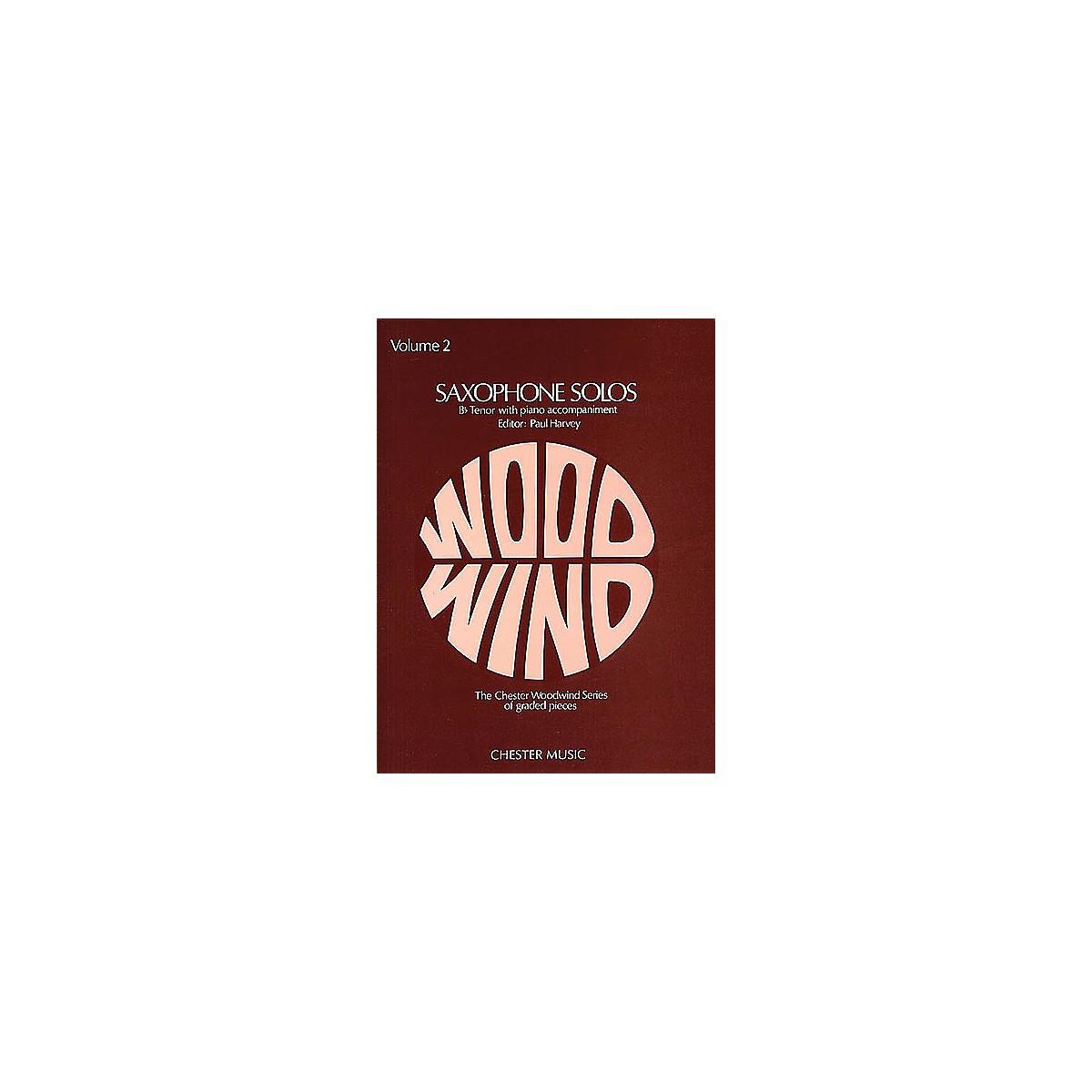 Chester Music Tenor Saxophone Solos - Volume 2 Music Sales America Series