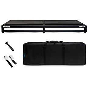 pedaltrain terra pedal board with soft case guitar center. Black Bedroom Furniture Sets. Home Design Ideas