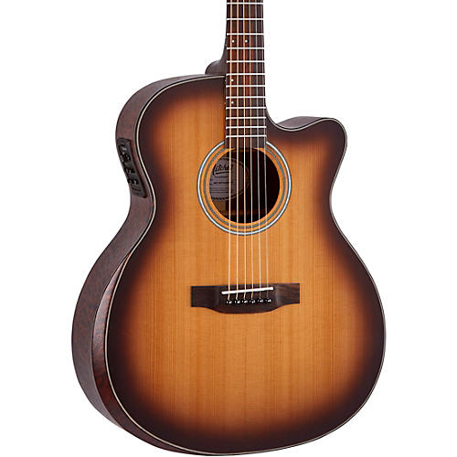 Mitchell Terra Series T413CEBST Auditorium Solid Torrefied Spruce Top Acoustic Electric Cutaway Guitar