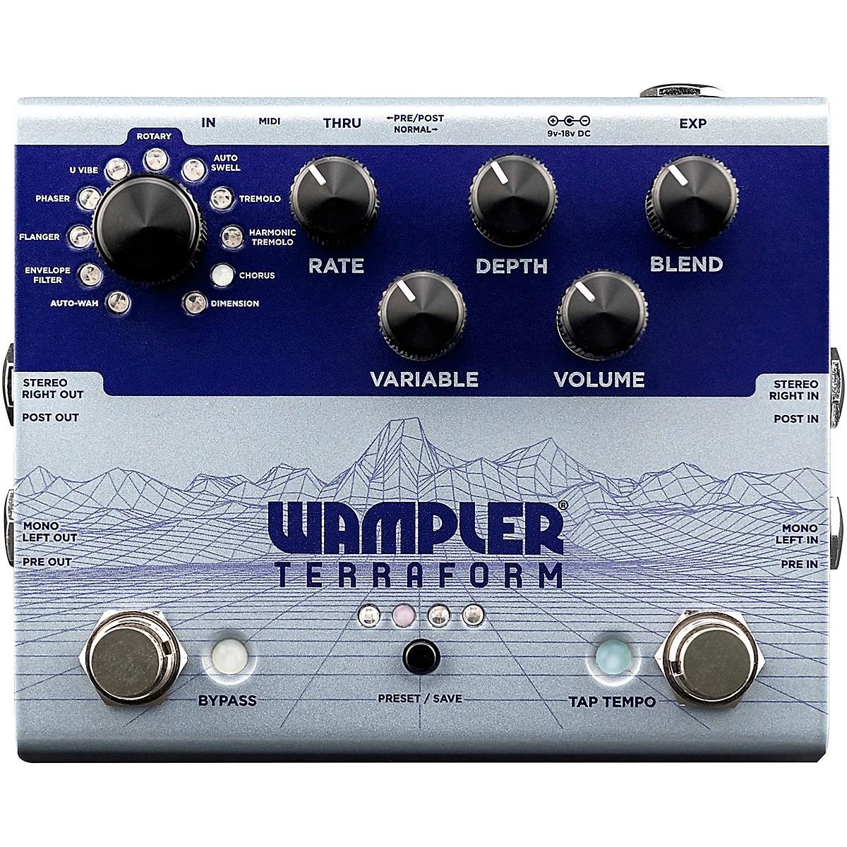 Wampler Terraform Modulation Multi-Effects Pedal