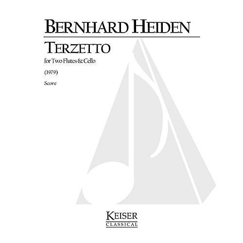 Lauren Keiser Music Publishing Terzetto (for 2 Flutes and Cello) LKM Music Series Composed by Bernhard Heiden