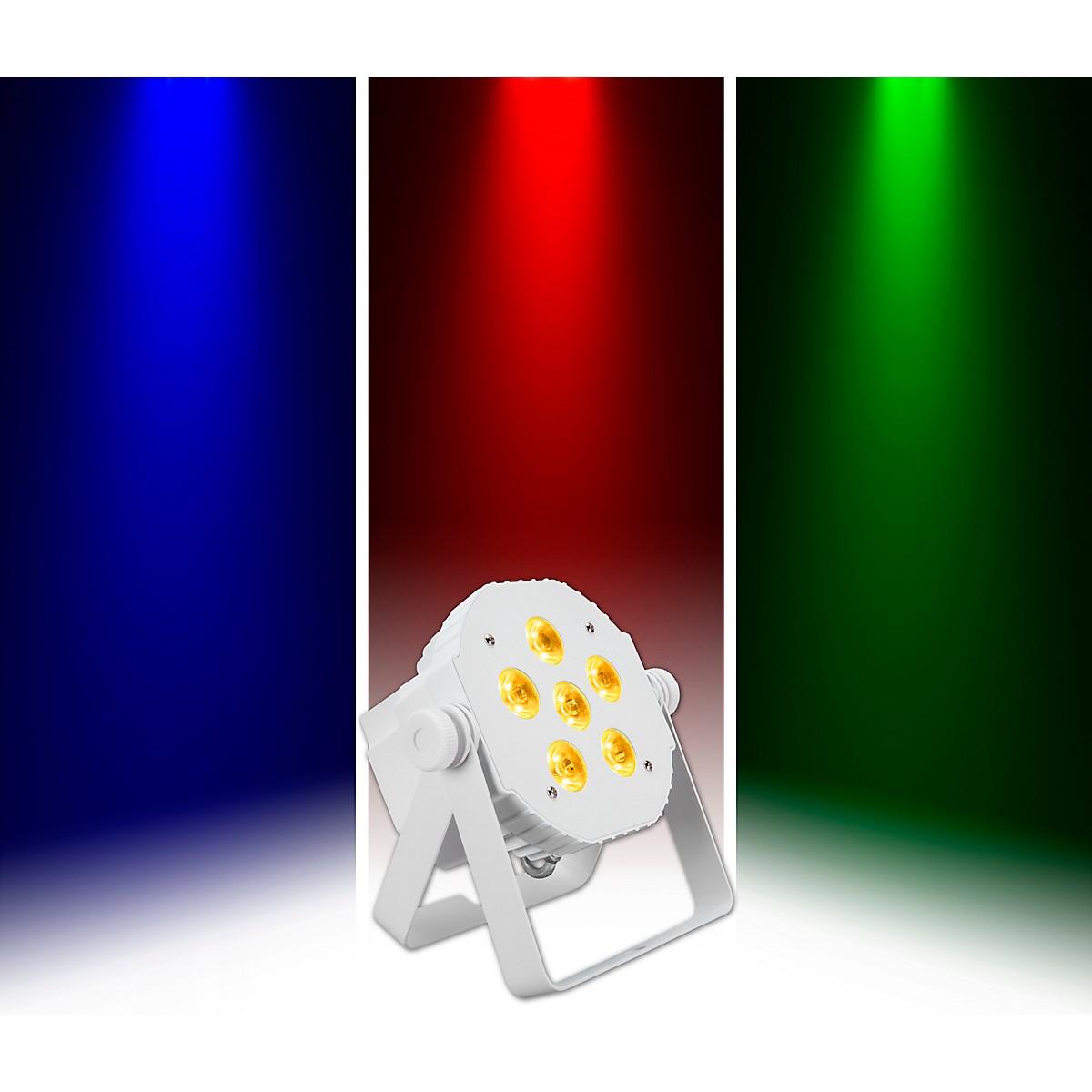 Venue Tetra 6 RGBA Compact Wash Light, White