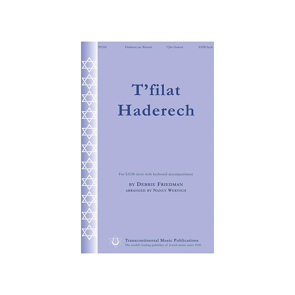 Transcontinental Music T'filat Haderech SATB arranged by Nancy Wetsch