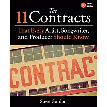 Hal Leonard The 11 Contracts That Every Artist, Songwriter, and Producer Should Know Book Hardcover by Steve Gordon